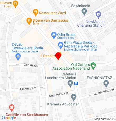 Google Map of Ginnekenweg 68 4818 JH Breda