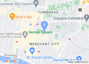 Map for Glasgow City Chambers
