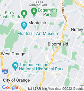 Glen Ridge NJ Map