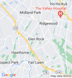 Glen Rock NJ Map