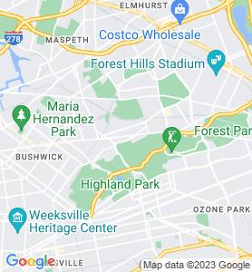 Glendale NY Map