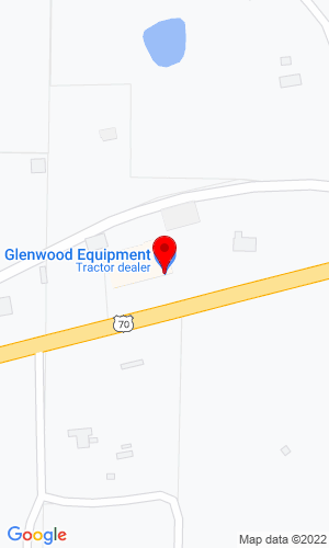 Google Map of Glenwood Equipment Company, Inc. 1674 Highway 70 West, Glenwood, AR, 71943