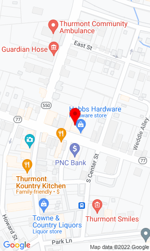 Google Map of Global Force Auction Group 122 Park Lane, P.O. Box 46, Thurmont, MD, 21788,