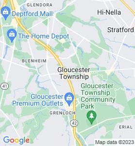 Gloucester NJ Map