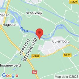 Google map of Werk aan het Spoel, Culemborg