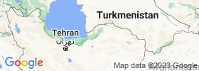 Golestān map