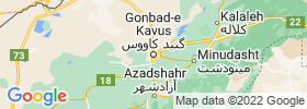 Gonbad E Kavus map