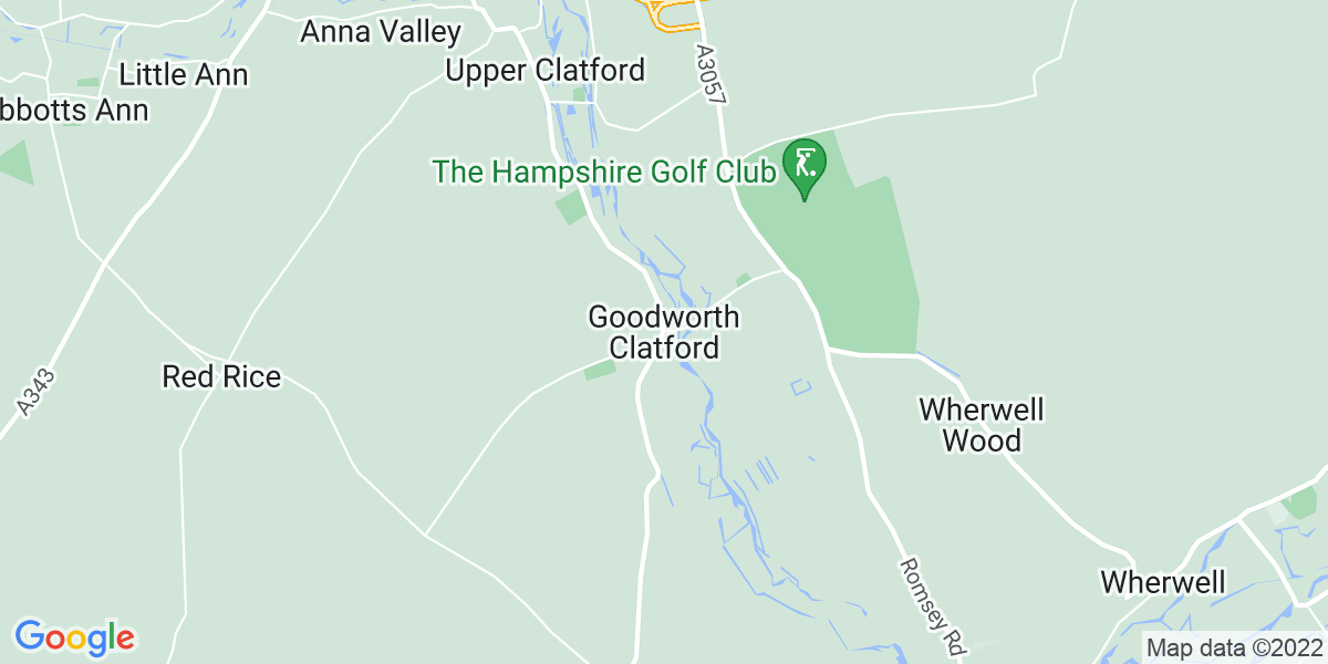 Map: Stairlift Engineer job role in Goodworth Clatford