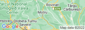 Motru map