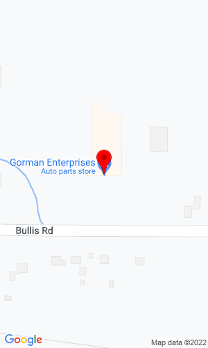 Google Map of Gorman Enterprises 691 Bullis Road, Elma, NY, 14059
