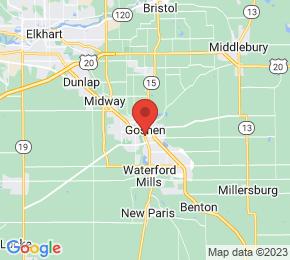 Job Map - Goshen, Indiana  US
