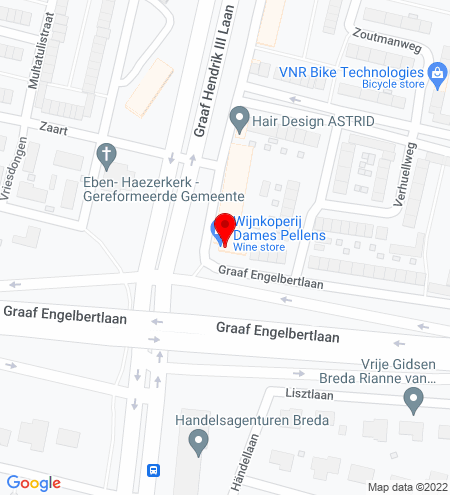 Google Map of Graaf Hendrik III laan 173 4819 CG Breda
