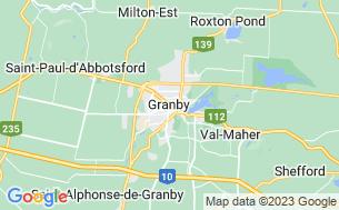 Map of Camping Granby