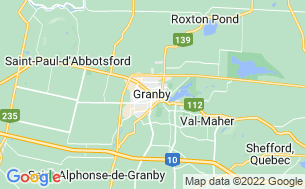 Map of Camping Granby