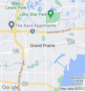 Grand Prairie TX Map