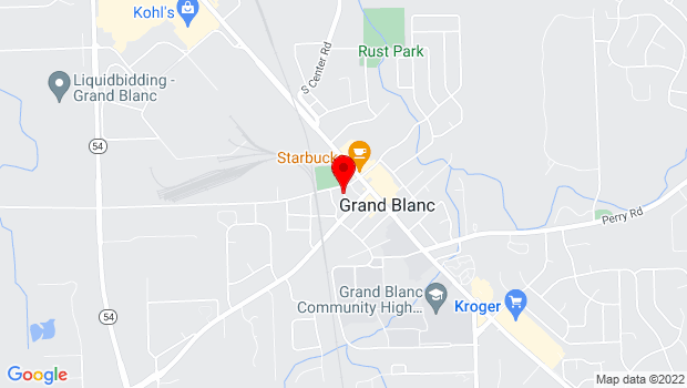 Google Map of Grand Blvd., Grand Blanc, MI 48439