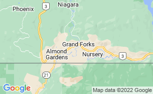 Map of Grand Forks City Park