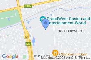 Grandwest Casino, 1 Vanguard Dr (811.86 mi) Cape Town, Western Cape 7460