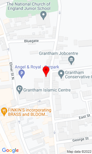 Google Map of Brown & Co. Granta Hall, 6 Finkin Street , Grantham, Lincolnshire, NG31 6QZ