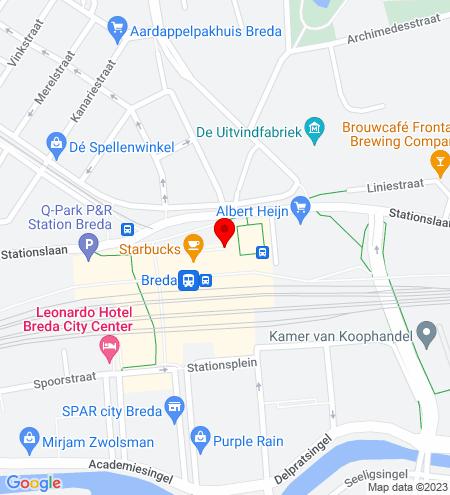 Google Map of Gravinnen van Nassauboulevard 36 4811 BN Breda