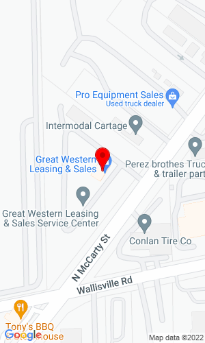 Google Map of Great Western Leasing & Sales 14212 Valley Blvd, Fontana, CA, 92335