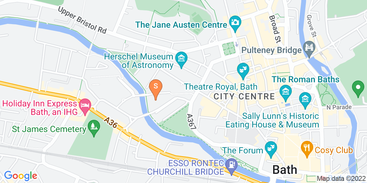 Google Map of Green Park StationGreen Park Road Bath BA1 2DR