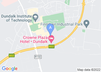Map for Crowne Plaza Dundalk