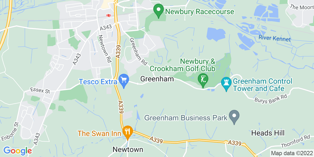 Map: Customer Service Advisor position in Greenham