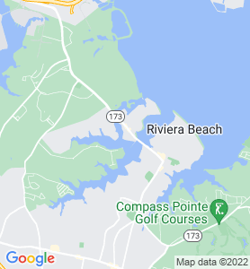 Greenland Beach MD Map