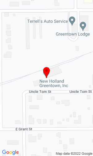 Google Map of Greentown Equipment Inc 532 E Uncle Tom St, Greentown, IN, 46936,