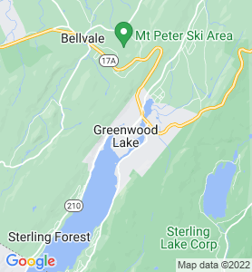 Greenwood Lake NY Map