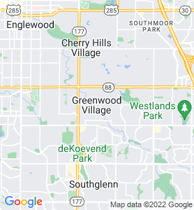 Greenwood Village CO Map