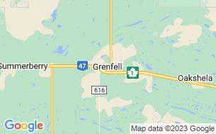 Map of Grenfell Regional Park