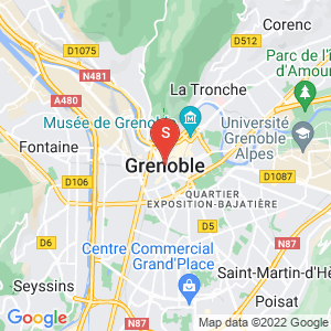 Carte Serrurier Grenoble