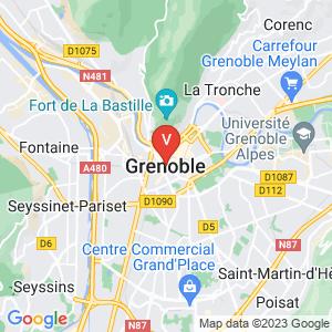 Carte Vitrier Grenoble