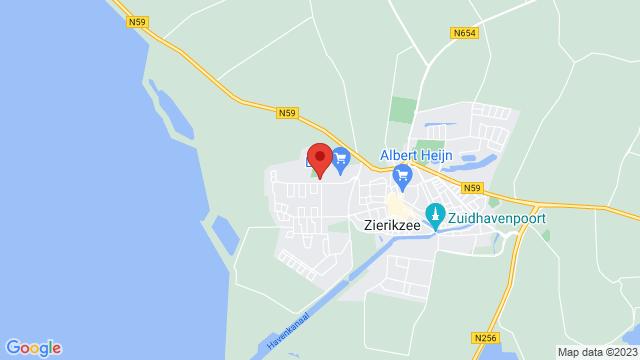 Zierikzee op Google Maps