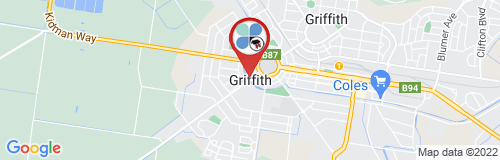 Griffith google map