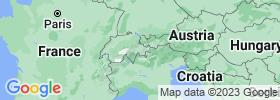 Grisons map
