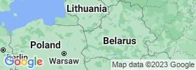 Grodnenskaya map