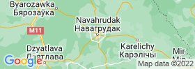 Navahrudak map