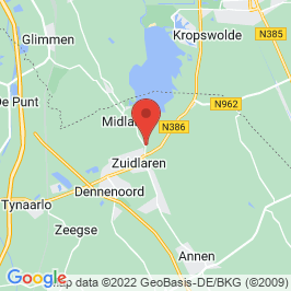 Google map of In het Voorhuys, Zuidlaren