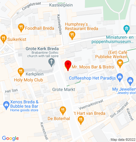 Google Map of Grote Markt 40-42 4811 XS Breda