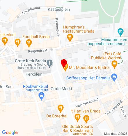 Google Map of Grote Markt 44 4811 XS Breda