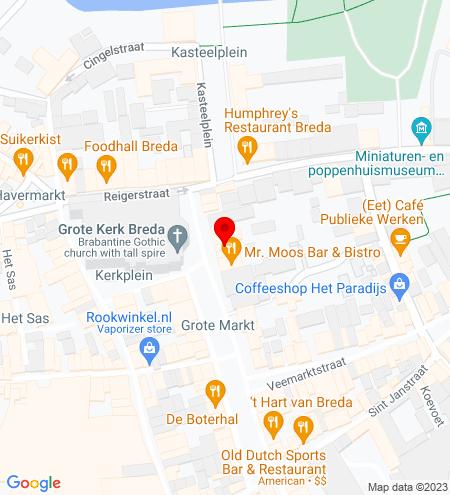 Google Map of Grote Markt 46 4811 XS Breda