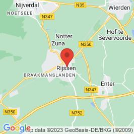Google map of De Stadsboerderij, Rijssen
