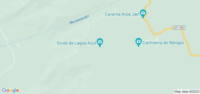 Gruta da Lagoa Azul, Chapada dos Guimarães, Mato Grosso - MT