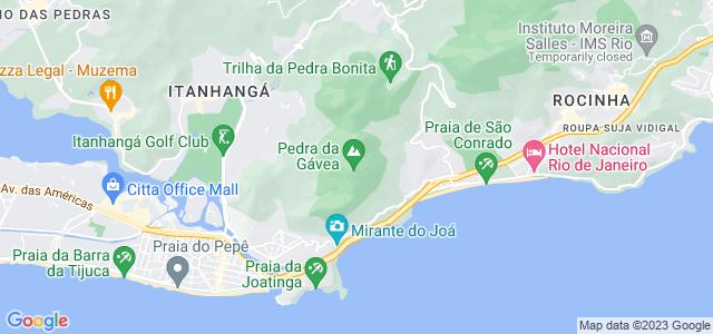 Gruta da Orelha do Imperador, Pedra da Gávea - RJ