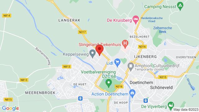 DAGO+Doetinchem+SEAT op Google Maps