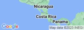 Guanacaste map