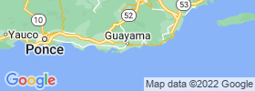 Guayama map